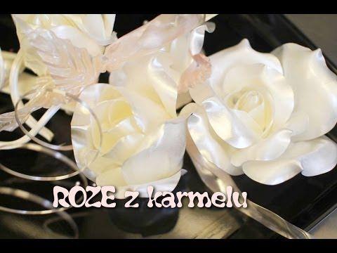 Róża z karmelu krok po kroku - Kotlet.TV - YouTube