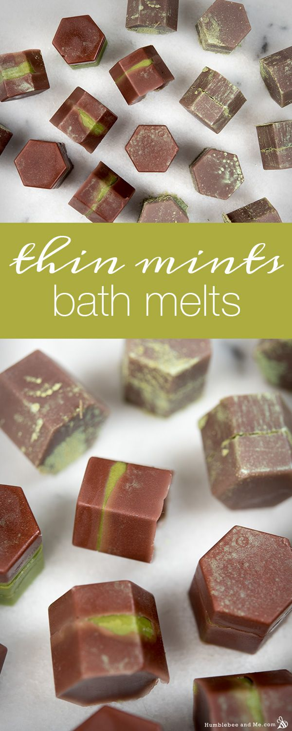 How to Make Thin Mints Bath Melts