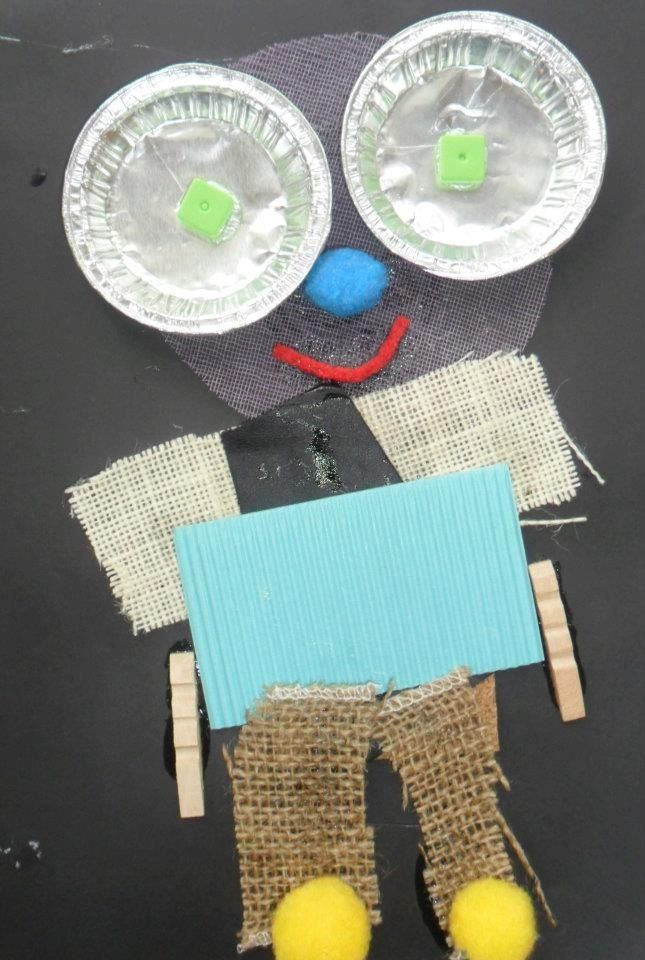 'Wilkie' - Mixed media collage @ New Horizons Preschool