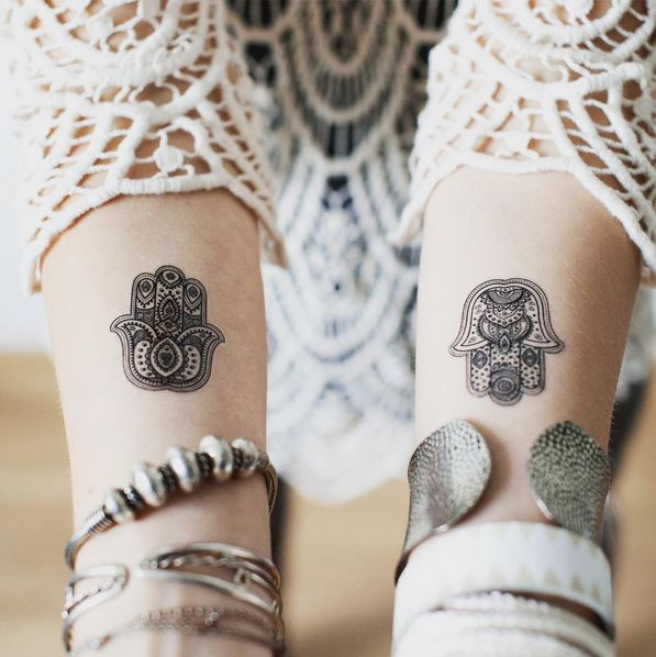 amazing small Fatima hand ( Hamsa ) tattoo #ink #YouQueen #girly #tattoos