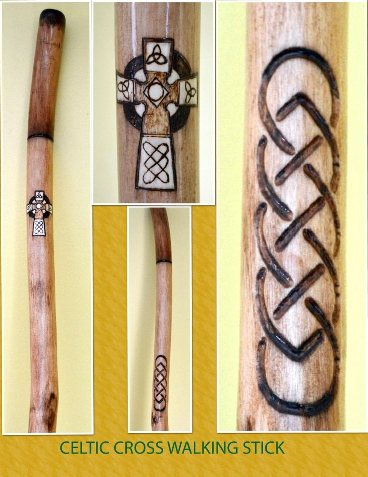 Celtic Cross Walking Stick