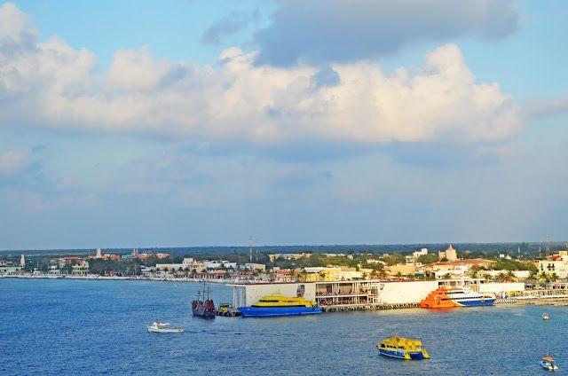FOTOGRAFIAS DEL MUNDO: Salida del Crucero Opera de la Isla COZUMEL de Méx...