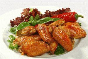 Habanero Hot Wings