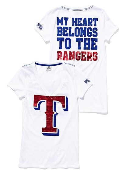 Want. Need. Must have! : Texas Rangers Baseball, Texasrangers, Rangers 3, My Heart, Pink, V Neck Tee, Rangers Tee, Texas Rangers Shirts