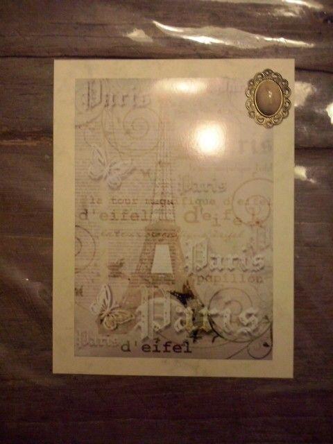 Carte Paris