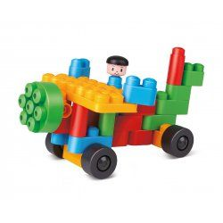 Poly M Premières constructions 25 pièces - Jeux de construction pour un enfant de 2 ans, 3 ans ...