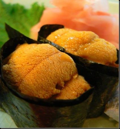 Uni Sushi - Sea Urchin