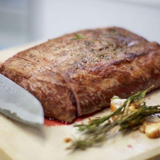 ESSEN & TRINKEN - Grundrezept Roastbeef Rezept