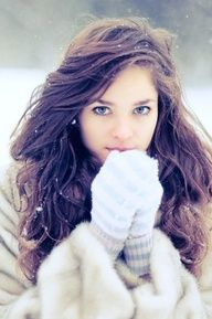 cute winter senior pictures - Google Search