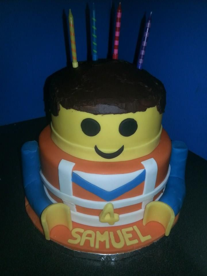 Emmet Lego Cake