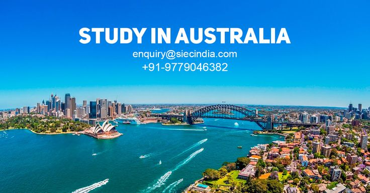 Study in Australia. Register now to get information about Australia Study Visa, Admission Process and Scholarship Options.  Visit: http://siecindia.com/study-in-australia/ Call: +91 9779046382 #StudyinAustralia #SIEC