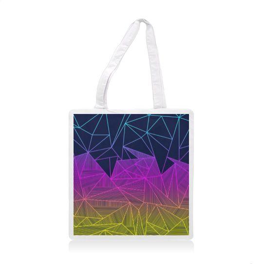 Bailey Rays tote bag   #fimbis #ArtRookie #abstract #geometric #shapes #style #styleblog #fashion #fashionblogger #fashionblog #styleblogger #cute #navy #totebag #bag #luggage #college #ukdesign #irishdesign #irishart #fblogger #shapes #cyan #magenta #dormlife
