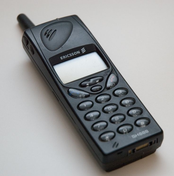 My first mobile phone, which I got in late 2001.....