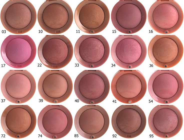 Bourjois blushes, want all of them :)