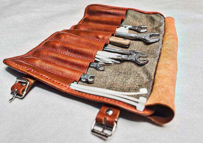 Tool roll - motorcycle tool bag/roll