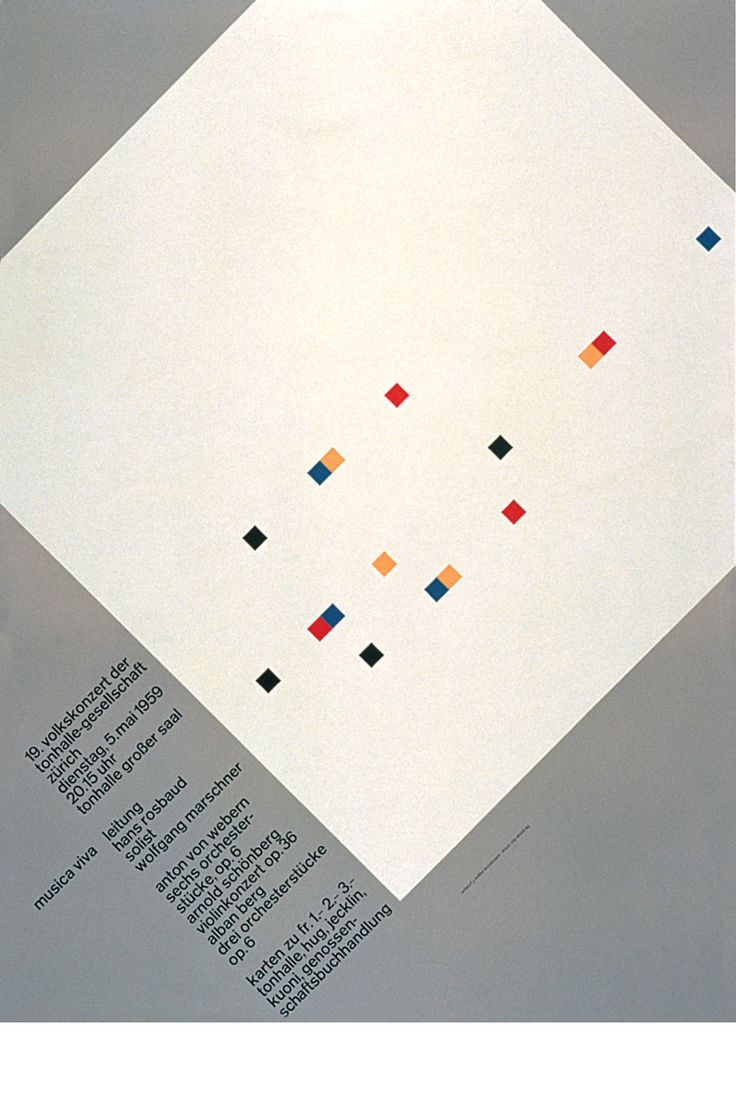 josef muller brockmann and his work essay Poster by the swiss graphic designer josef muller brockmann cover page essay format here is the general mla  work from 1960 to josef müller-brockmann.