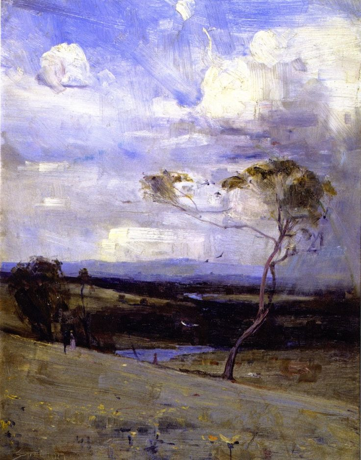 Arthur Streeton: Approaching Storm ...Just Beautiful!!!!