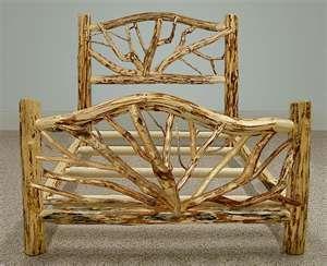 rustic log furniture... sweet