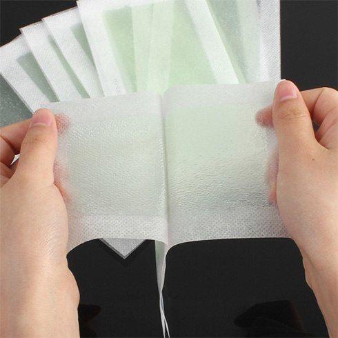 Cold wax strips | #HomeRemedies #HairRemovals