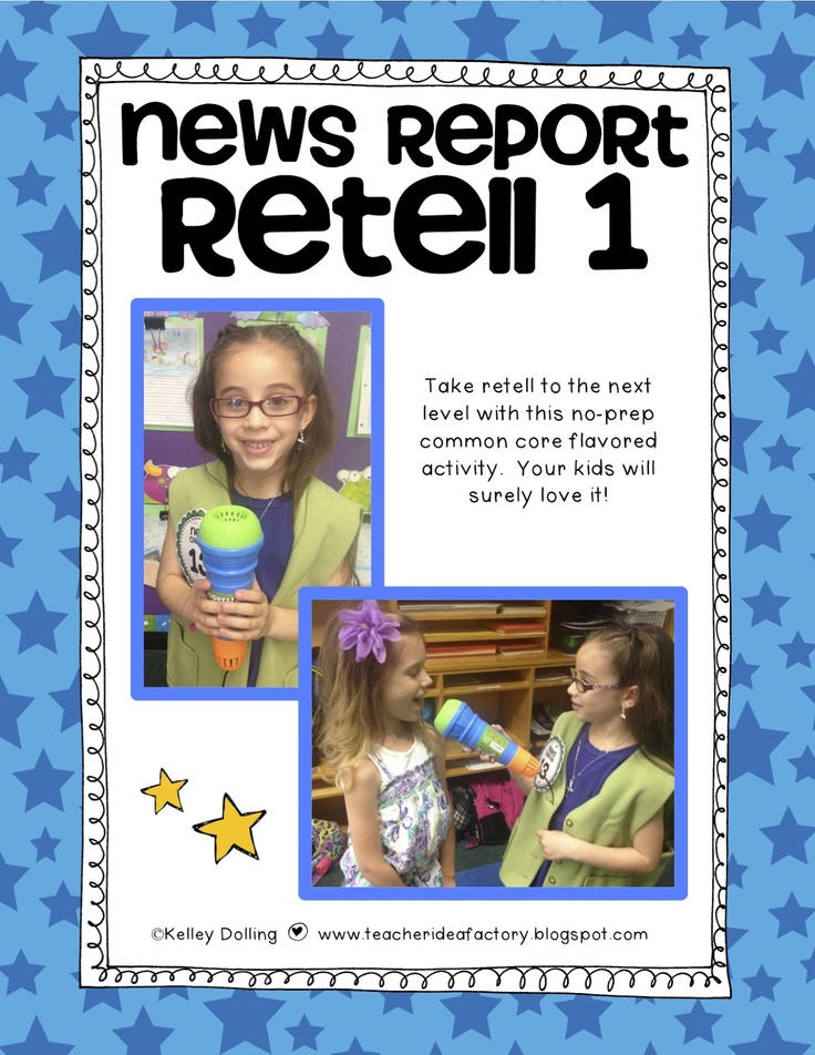 Tons of fun retelling activities!! Love these!