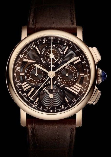 CARTIER☆Masculine elegance watch for men