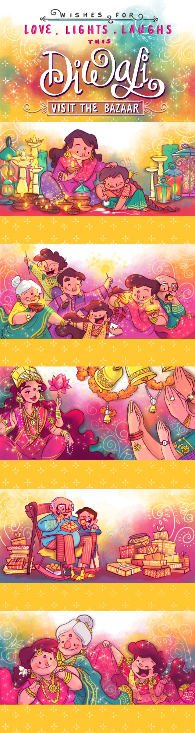Amazon India - Diwali Emailer! on Behance