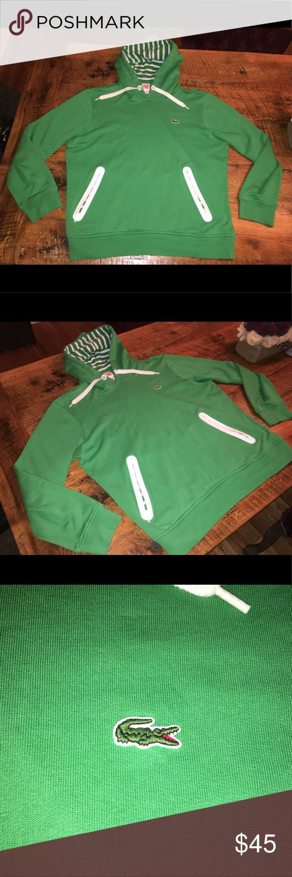 Lacoste Live! Hoodie Sz 6 Excellent condition from smoke free home. Feel free to contact me with any questions. Lacoste Shirts Sweatshirts & Hoodies