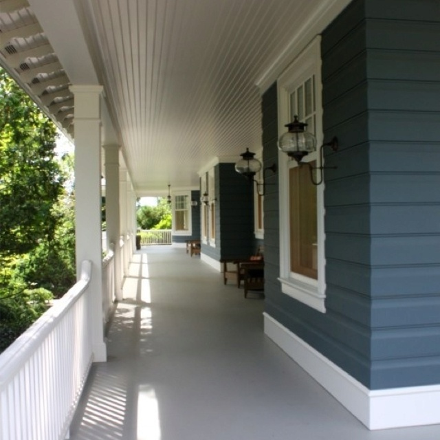 Concrete Verandah House Inspiration Exterior Pinterest