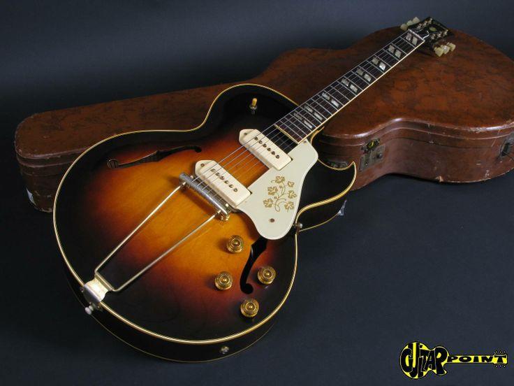 Gibson ES 295 Ex. Eric Clapton !!! 1953 Sunburst Guitar For Sale GuitarPoint
