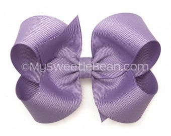 Arco del pelo de 4 pulgadas, oscuro Orchid Boutique arco, arco del pelo morado pastel, púrpura arco del pelo de las niñas, No Slip niño arco, las muchachas del bebé, púrpura oscura