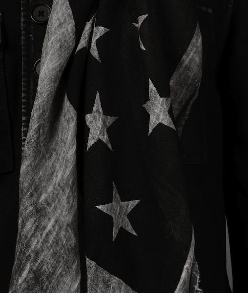 Joe Manganiello wears John Varvatos American Flag Scarf and ...