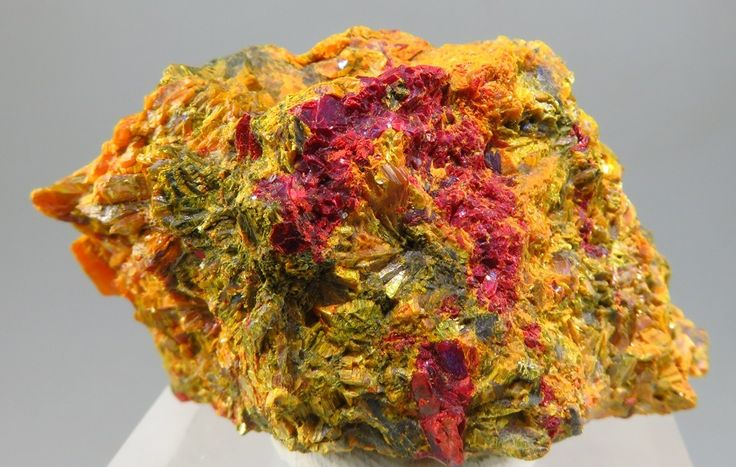 Getchellite & Orpiment - Getchell Mine, Humboldt County, Nevada