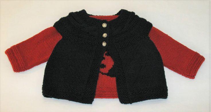 Colete Lã Textura Trança para Rapariga - 100% merino lã superwash
