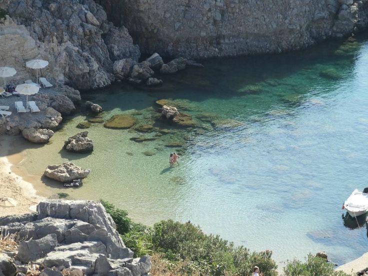 Lindos beach - Lindos, Rhodes
