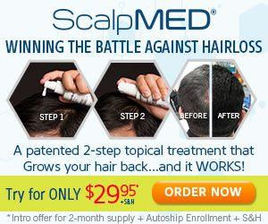 Scalp Med Hair Growth Win the Battle of Baldness http://asontvinfomercials.com/scalpmed.html #hair #hrowhair