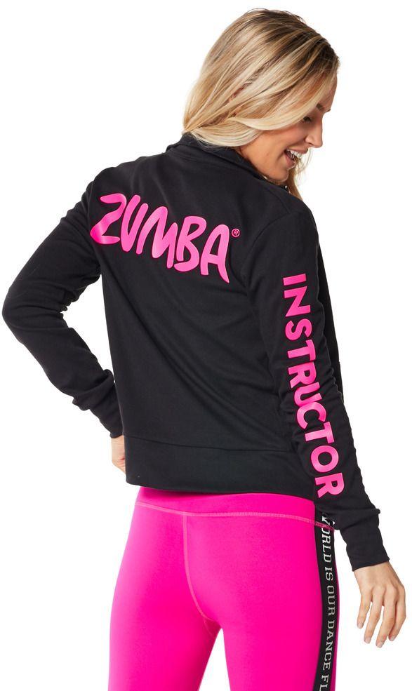 Zmoji Instructor Zip Up Cardigan | Zumba Fitness Shop