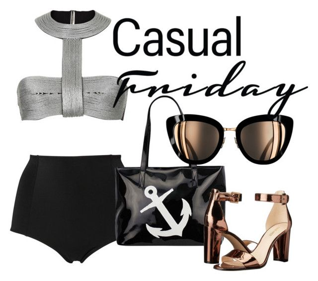 Casual Friday by illetilmote on Polyvore featuring Monki and Nine West