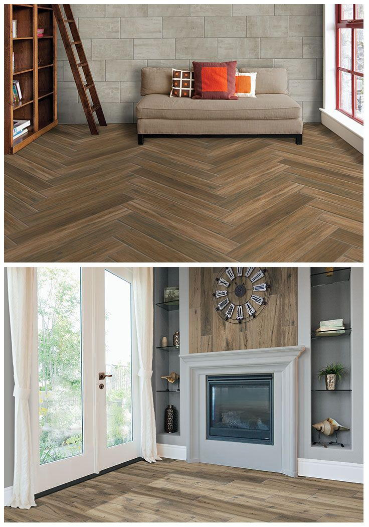 Portwood and Harvestwood tile by Marazzi is as versatile as it is beautiful. Now in new longer 6 x 36 planks, the warmth of the tile's wood grain enhances the look of any decor from traditional to rustic to industrial...without straining your remodeling budget. You'll love its durability and easy care, too. Click through to see the wide selection of on-trend Marazzi tile available at The Home Depot.