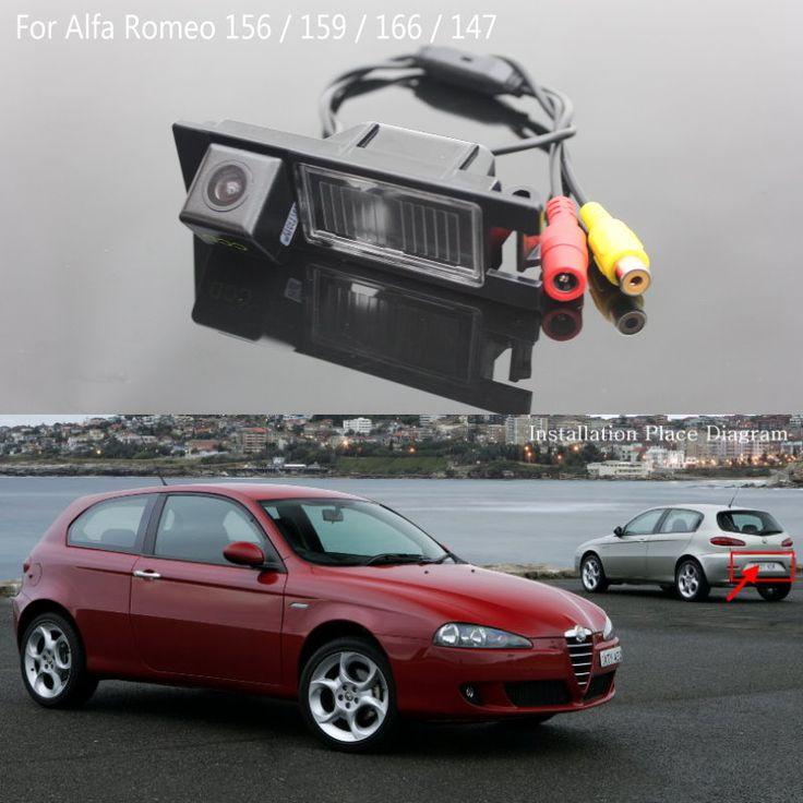 Камера Заднего вида/ДЛЯ Alfa Romeo 147/Реверсивный Резервное копирование камера/Автомобильная Стоянка Камеры/HD CCD Ночного Видения/Водонепроницаемый