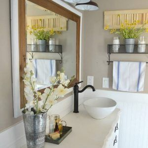Bathroom Bathroom Lighting Farmhouse Cottage Style Vanity Unit Pertaining  To Dimensions 945 X 1331 Farmhouse Style Vanity Lighting   Farmhouse Chairs  Are I