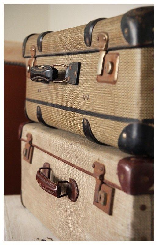 17 beste idee n over oude koffers op pinterest koffer. Black Bedroom Furniture Sets. Home Design Ideas