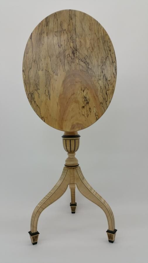 Tilt Top Table by Les Hastings