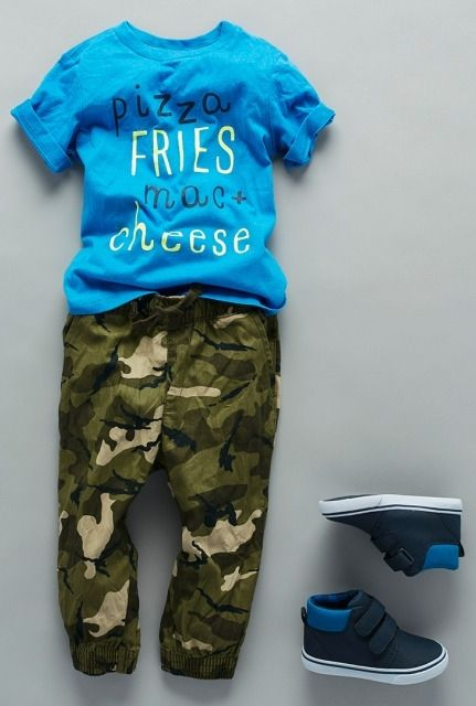 """Pizza, Fries, Mac & Cheese"" 