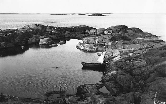 Island of Klovharu was home to Tove Jansson for almost thirty years