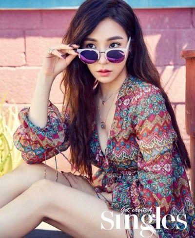Girls' Generation Tiffany's photo shoot in Hawaii | Koogle TV