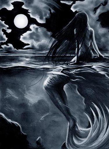 """Siren"" (2000) de Jennifer L. Bechtel ~goldronin"
