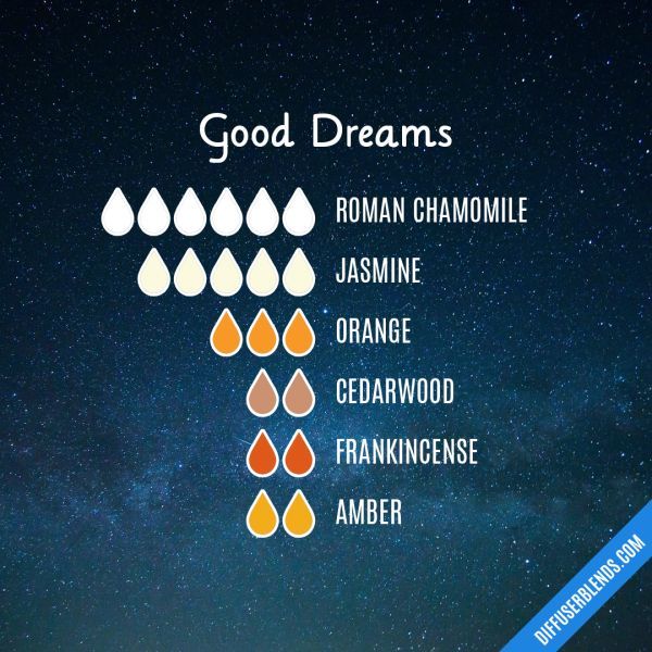 Good Dreams - Essential Oil Diffuser Blend