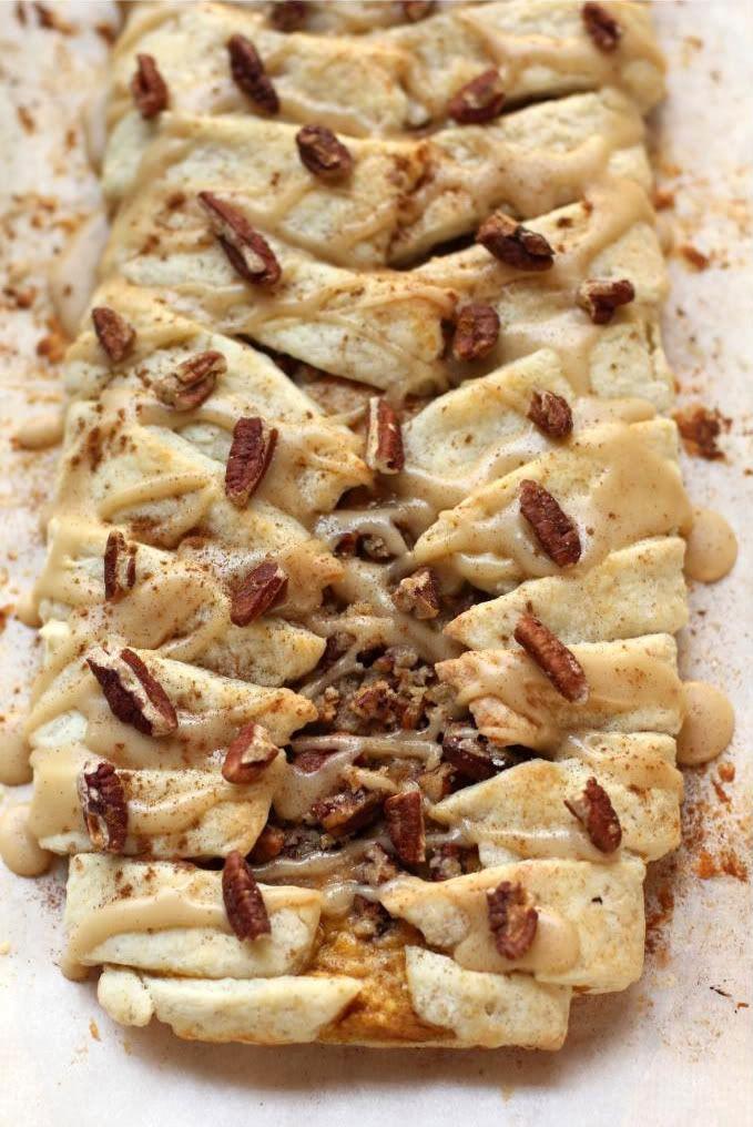 Pumpkin Pecan Streusel Breakfast Braid > Willow Bird Baking
