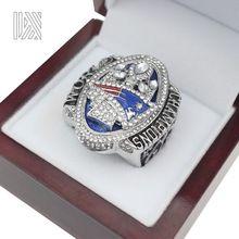 La Más Nueva versión Oficial 2017 New England Patriots Super Bowl LI MVP BRADY Campeonato Anillo de Tamaño 8 9 10 11 12 13(China (Mainland))