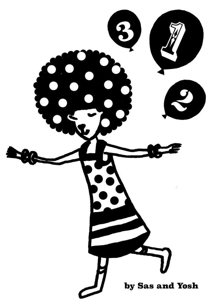 SasandYoshxJebrille Wallsticker Collection-AfroCat-1